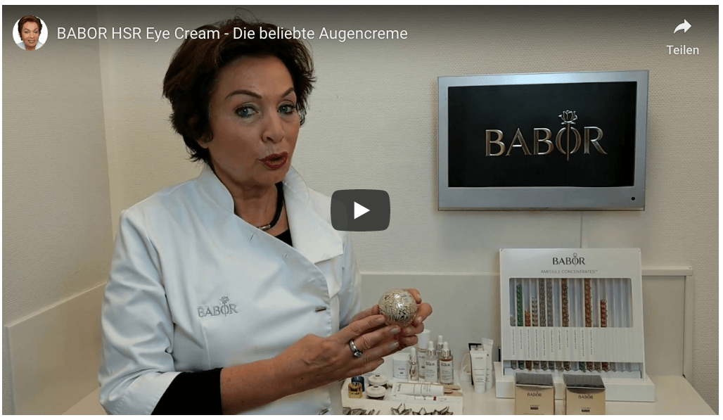 BABOR HSR Eye Cream Video
