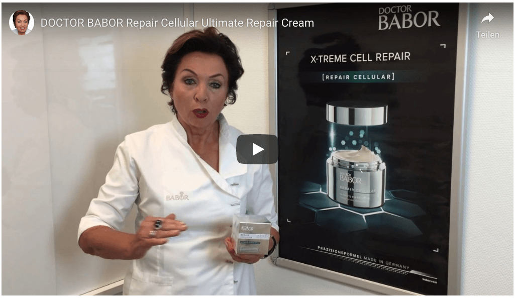 Doctor BABOR Ultimate Repair Cream Video