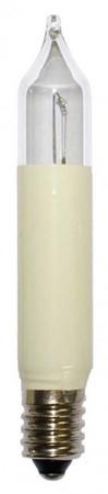 9x Kleinschaftkerze Ersatzkerze Glühbirne Lichterkette 15V 3W