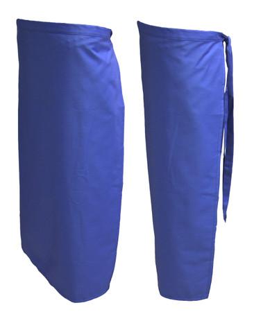 Vorbinder Vorstecker Bistroschürze Kellnerschürze blau 83x86 – Bild 3