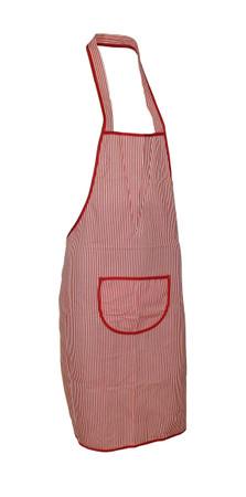 Trägerschürze Latzschürze Schürze Grillschürze Kochschürze Baumwolle gestreift – Bild 2