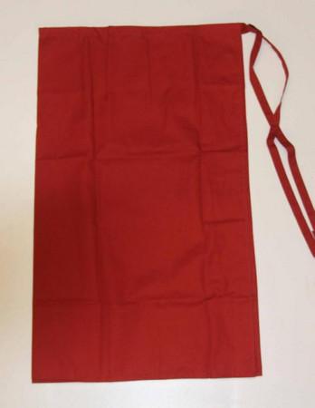 Vorbinder Schürze Bistroschürze Servierschürze Pisa rot 110x90