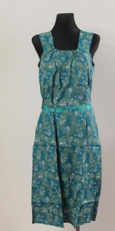 Kleid Trägerkleid Hauskleid Gartenkleid Strandkleid Viskose