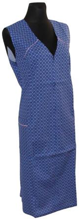 Reißverschlusskittel RV Kittel Schürze Hauskleid Baumwolle bunt – Bild 5