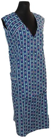 Reißverschlusskittel RV Kittel Schürze Hauskleid Baumwolle bunt – Bild 13