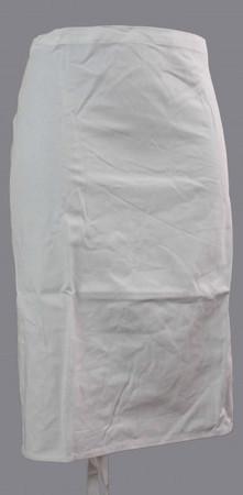 Vorbinder Schürze Bistroschürze Servierschürze weiß