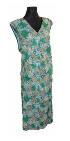 Damenkittel Kittel Schürze ohne Arm zum knöpfen – Bild 12