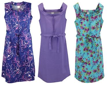 Kleid Trägerkleid Hauskleid Gartenkleid Strandkleid bunt