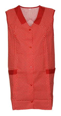 Kasack Kittel kurz Schürze 7/8- Kasack ohne Arm Baumwolle – Bild 3