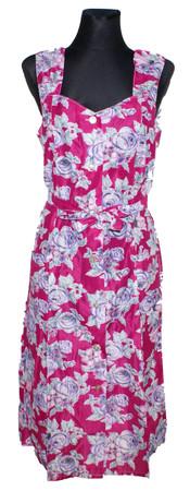 Kleid Trägerkleid Hauskleid Gartenkleid Strandkleid Dederon Nylon – Bild 6