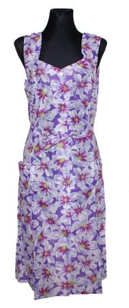 Kleid Trägerkleid Hauskleid Gartenkleid Strandkleid Dederon Nylon – Bild 13