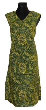 Reißverschluss RV Kittel Schürze Hauskleid Baumwolle  – Bild 11