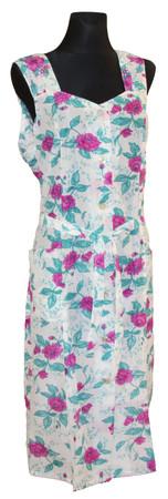 Kleid Trägerkleid Hauskleid Gartenkleid Strandkleid Dederon Nylon – Bild 12