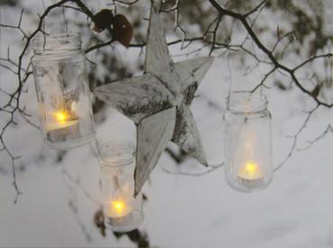 LED Fensterbild 30 x 40 x 1,5cm Wandbild Bild Leinwand Weihnachten – Bild 2