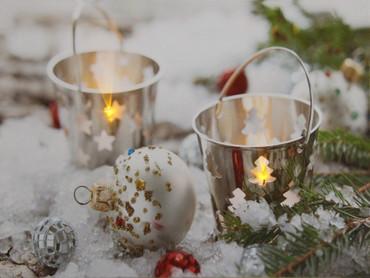 LED Fensterbild 30 x 40 x 1,5cm Wandbild Bild Leinwand Weihnachten – Bild 3