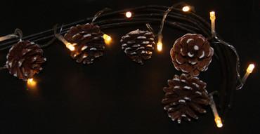 LED Lichterkette Dekoration Weihnachtsbeleuchtung Innenbeleuchtung  – Bild 6