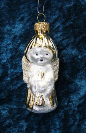 Christbaumschmuck Weihnachtskugeln Figuren aus Glas Anhänger Baumschmuck Baumbehang handgefertigt mundgeblasen Weihnachten  – Bild 2