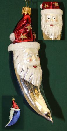 Christbaumschmuck Weihnachtskugeln Figuren aus Glas Anhänger Baumschmuck Baumbehang handgefertigt mundgeblasen Weihnachten  – Bild 10