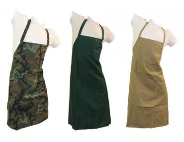 Trägerschürze Tischlerschürze Latzschürze Schürze Grillschürze camouflage – Bild 1