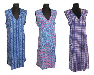 Reißverschluss RV Kittel Schürze Hauskleid Baumwolle – Bild 1
