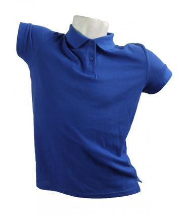 Poloshirt Polohemd Arbeitshemd Fruit of the Loom blau