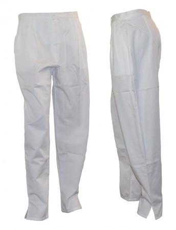 Pflegerhose Schwesternhose Damenhose Hose weiß  – Bild 1