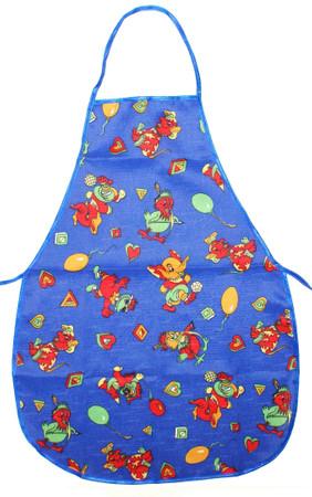 Malschürze Kinderschürze Bastelschürze Polyester – Bild 3
