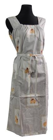 Kleid Trägerkleid Hauskleid Gartenkleid Strandkleid Satin – Bild 3