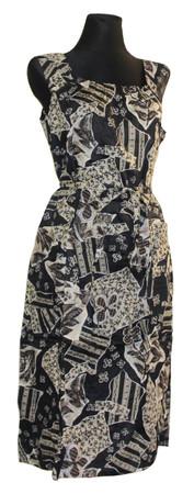Kleid Trägerkleid Hauskleid Gartenkleid Strandkleid Satin – Bild 22