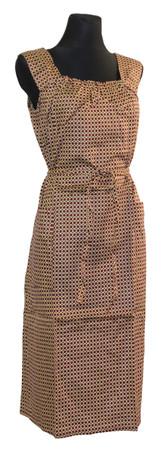 Kleid Trägerkleid Hauskleid Gartenkleid Strandkleid Satin – Bild 8