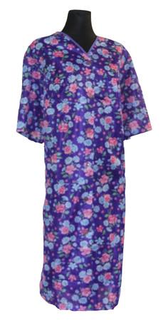 Damen Kittel Schürze Dederon Polyester 2 Taschen – Bild 2
