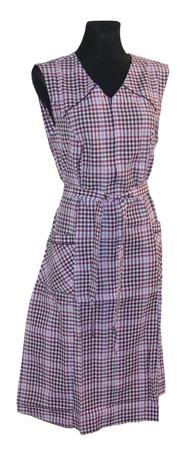 Damenkittel Kittel Schürze ohne Arm Baumwolle/Polyester – Bild 2