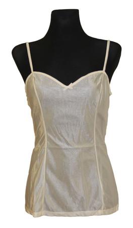 Damen Unterwäsche Unterhemd Hemdrock BH-Hemd ohne Spitze Polyamid – Bild 2