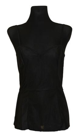 Damen Unterwäsche Unterhemd Hemdrock BH-Hemd ohne Spitze Polyamid – Bild 6