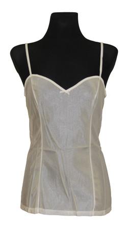 Damen Unterwäsche Unterhemd Hemdrock BH-Hemd ohne Spitze Polyamid – Bild 8