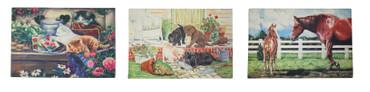 Schmutzfangmatte Eingangsmatte Fußmatte Schmutzmatte Matte Katzen Hunde Pferde – Bild 1