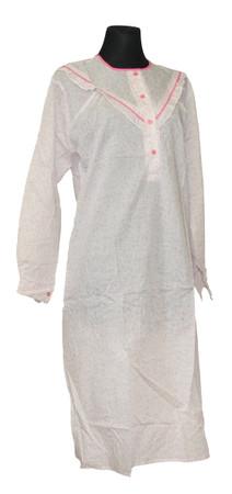 Nachtwäsche Nachthemd Damen Nachtgewand Nachtkleid – Bild 2