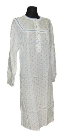 Nachtwäsche Nachthemd Damen Nachtgewand Nachtkleid – Bild 7