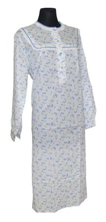 Nachtwäsche Nachthemd Damen Nachtgewand Nachtkleid – Bild 8
