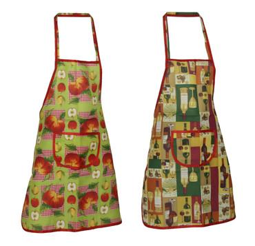 Trägerschürze fleckabweisend Polyester Latzschürze Schürze Kochschürze  – Bild 1