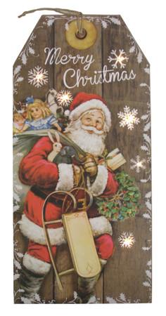 LED Wandbild Weihnachten Bild Leinwand Fensterbild – Bild 3