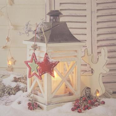 LED Wandbild Weihnachten Bild Leinwand Fensterbild Wintermotiv Holz Dekoration – Bild 4