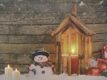 LED Wandbild  Holz Dekoration Weihnachten Bild Leinwand Fensterbild – Bild 5