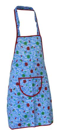 Latzschürze 70x62cm Baumwolle  Trägerschürze Grillschürze Schürze Kochschürze – Bild 4