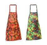 Trägerschürze fleckabweisend Polyester Latzschürze Schürze Erdbeere Weintrauben 001