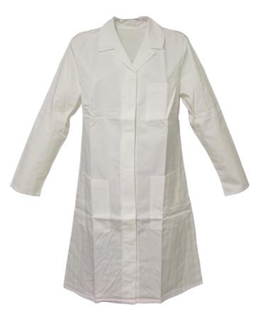 Laborkittel Damen weiß Kittel Damenkittel Schwesternkittel mit Arm