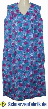 Kittel Schürze ohne Arm mit Riegel Baumwolle bunt