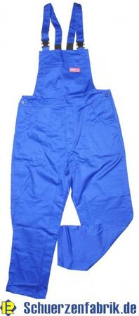 Herren Arbeitshose Latzhose Hose kornblau blau Größe 46 - 60