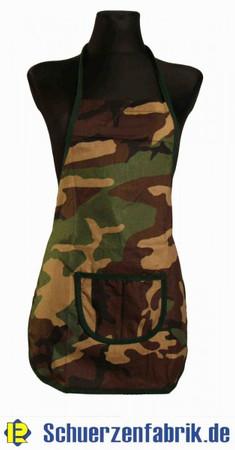 Werkenschürze Kinderschürze Camouflage Baumwolle