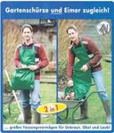 Schürze Gartenschürze Gartensack Eimer Laubsack Polyester wasserdicht 001